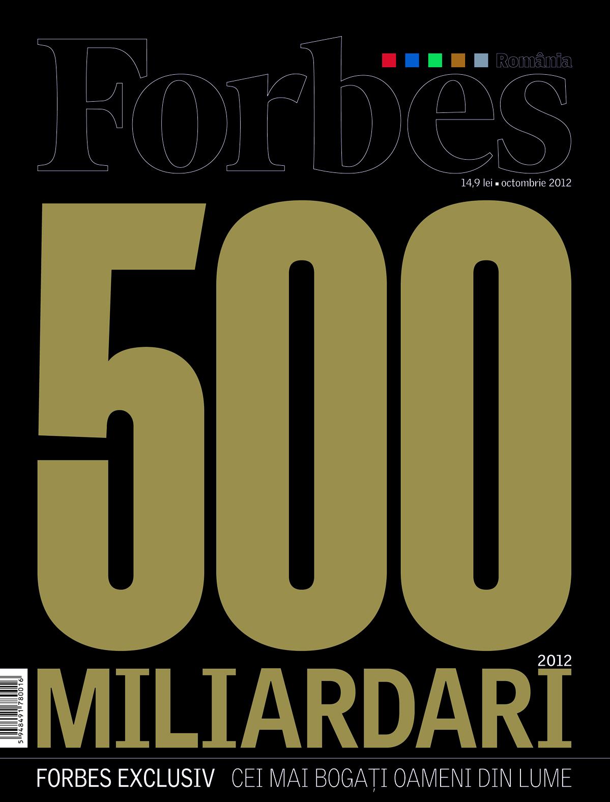 Oct. 2012 - Top 500 Miliardari