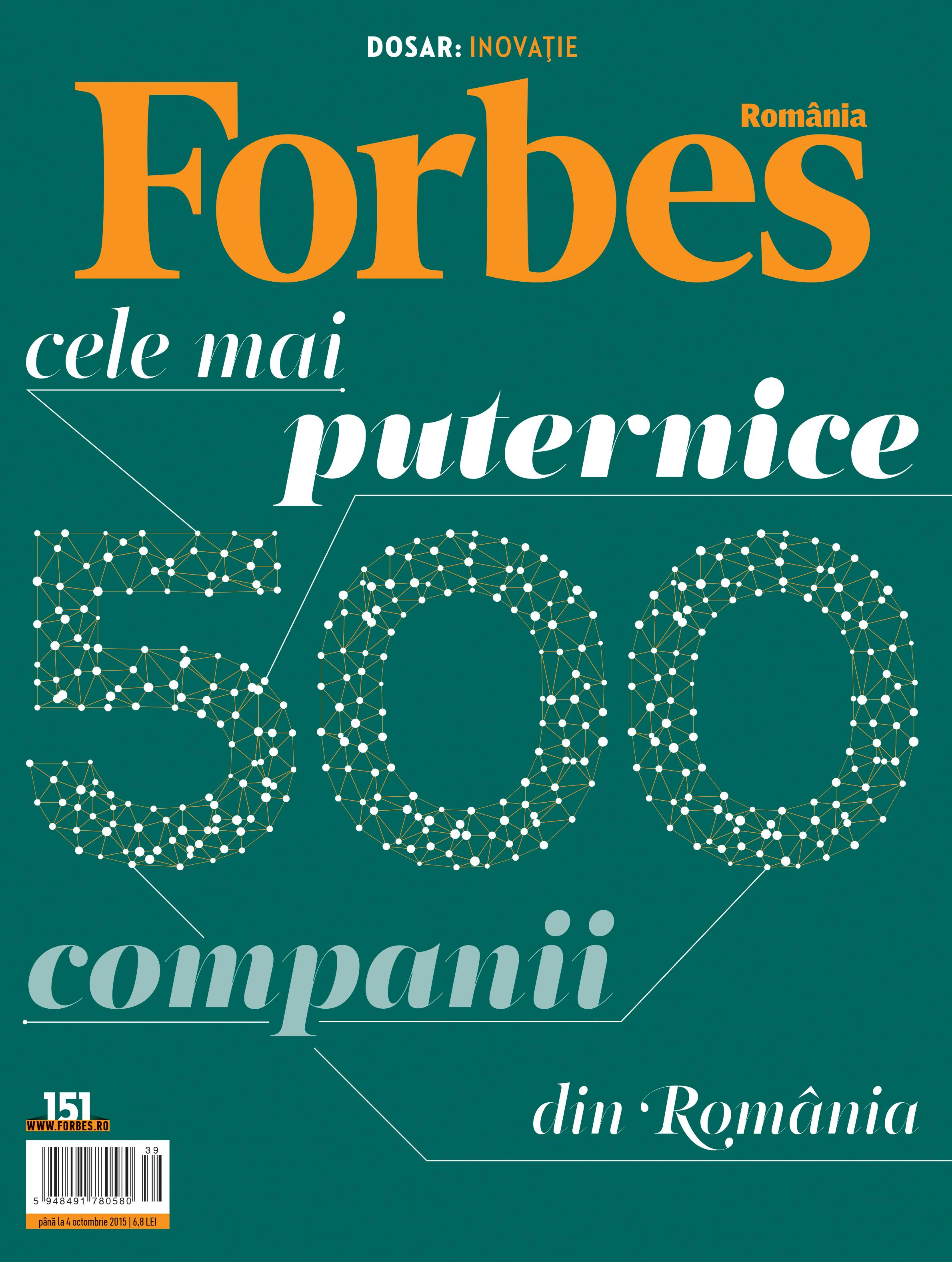 Nr. 151 - Cele mai puternice 500 companii din România