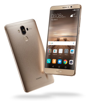 Mate 9_Champagne Gold Front & Back