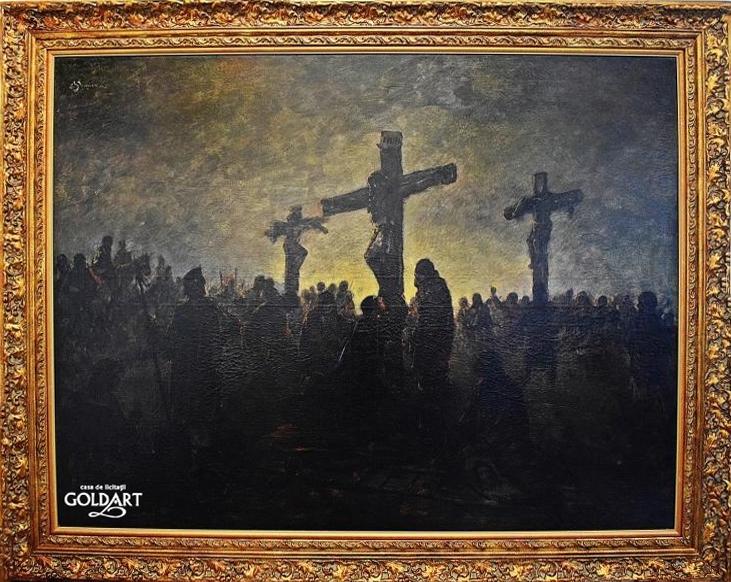 """""""Scenă biblică"""", de Eustatiu Stoenescu"""