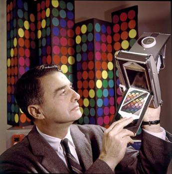 Edwin Land Demonstrates Polaroid Film